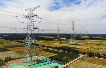 1,000 KV power project put into operation in China's Xiongan New Area