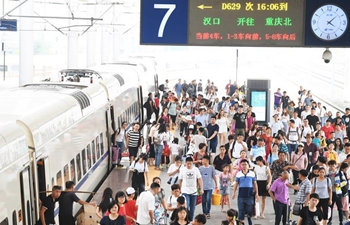Chinese railways to see 647 mln passenger trips in summer