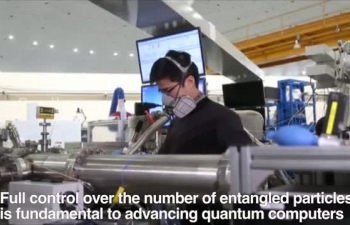 Chinese scientists set new quantum entanglement record