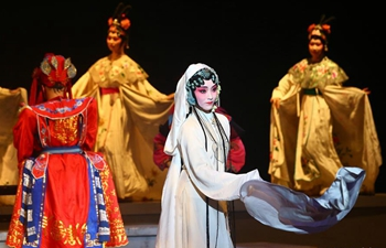 "College students perform Kunqu Opera ""the Peony Pavilion"" in Tianjin, N China"