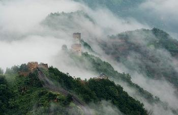 Scenery of Huangyaguan section of Great Wall in N China's Tianjin