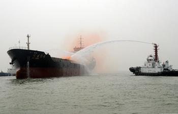 Joint maritime emergency drill held in N China's Hebei