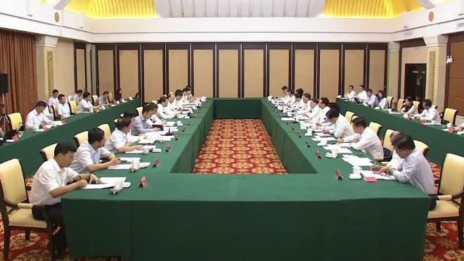 深圳市党政代表团到雄安新区考察