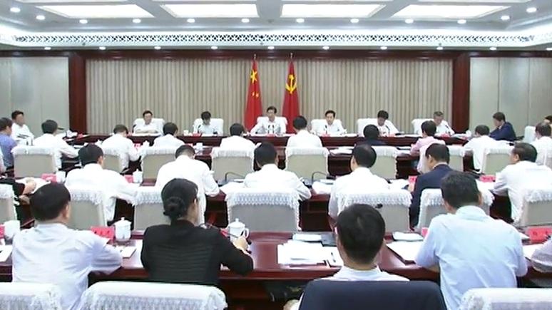 """王东峰:奋力开创新时代全省""""三农""""工作新局面"""