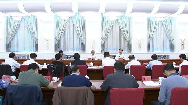 许勤主持召开省大气污染防治工作领导小组会议