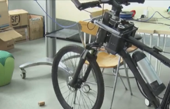Chinese university team develops auto-balancing bicycle