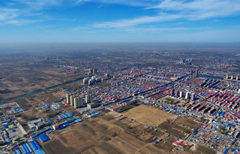 China aims high in building landmark Xiongan New Area